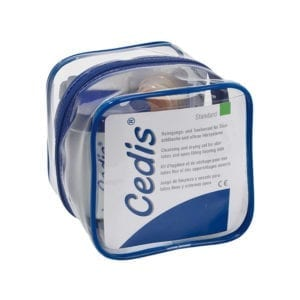 Cedis Cleansing Drying Set for Slim Tubes Standard