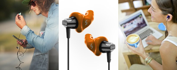 Music moulds and earphones