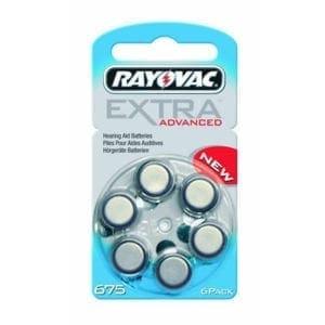 Rayovac size 675