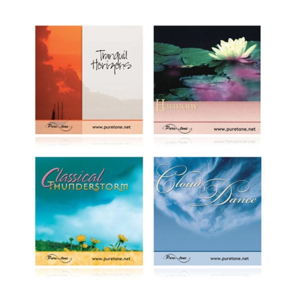 Set of 4 Relaxation CDs